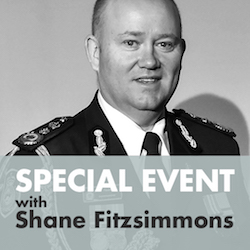 In Conversation with Shane Fitzsimmons: Online Event